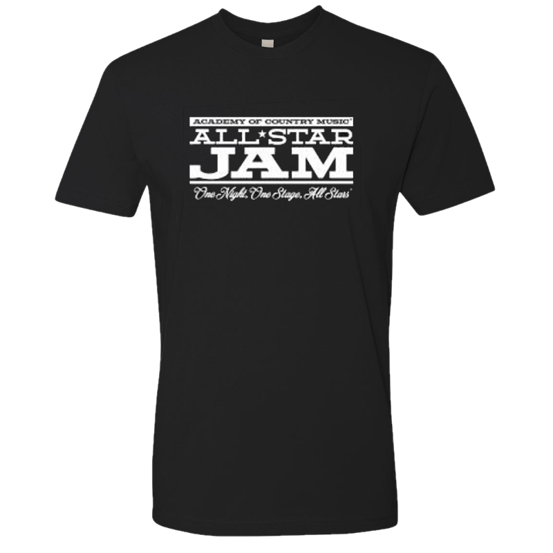 Academy of Country Music All Star Jam Black Tee