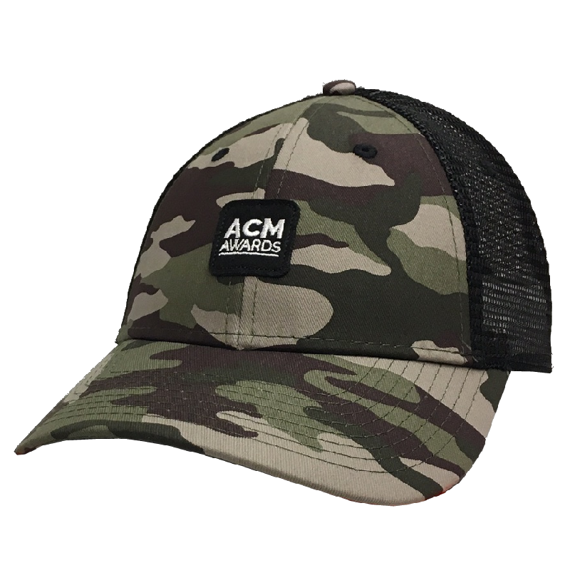 Academy of Countyr Music Camo Ballcap