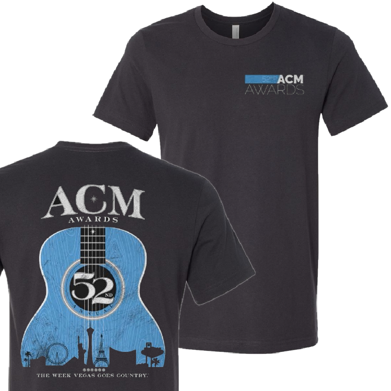 Academy of Country Music Dark Grey Tee