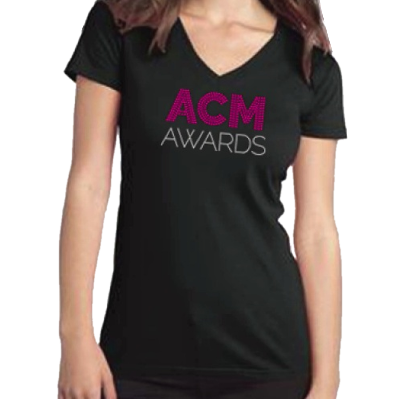 Academy of Country Music Ladies Bling Tee