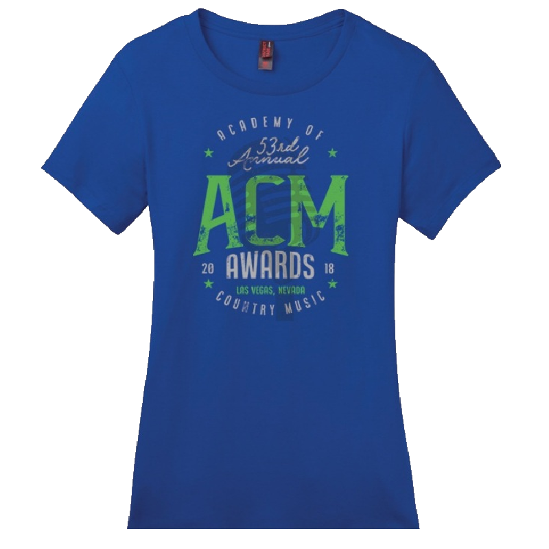 Academy of Country Music Ladies Deep Royal Tee