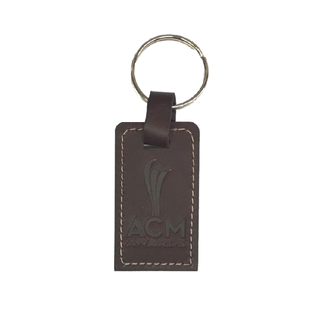 Academy of Country Music Leather Keychain