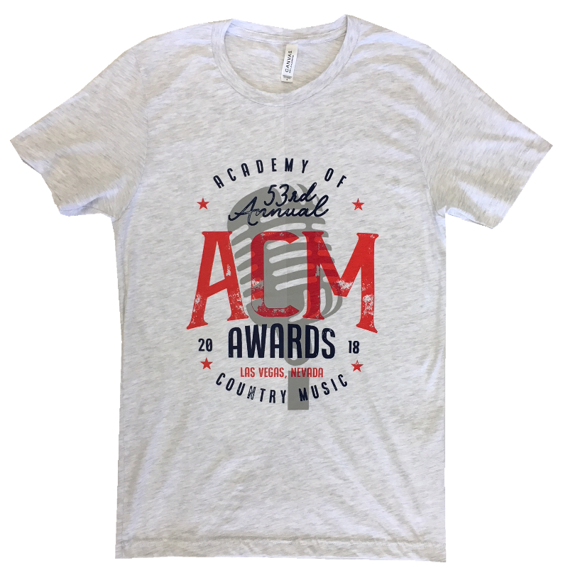 Academy of Country Music Unisex Ash Tee