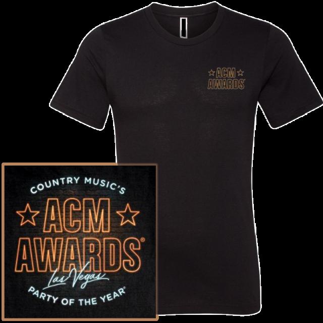 55th ACM Awards Black Tee