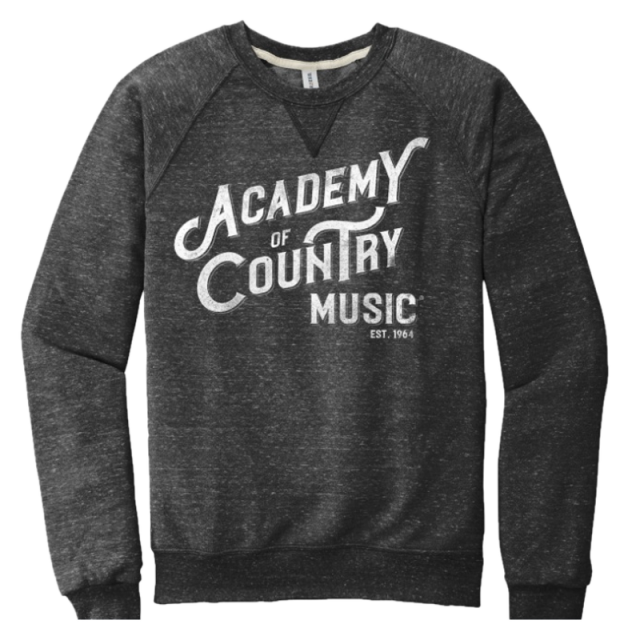 55th ACM Awards Black Ink Sweatshirt