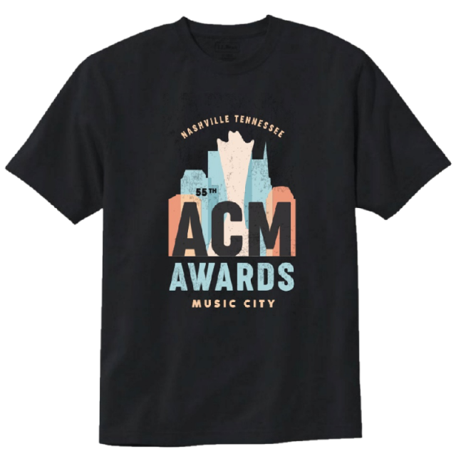 55th ACM Awards Music City Tee- PRESALE