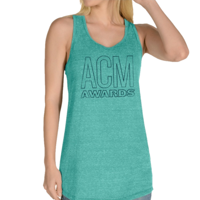 55th ACM Awards Snowy Heather Mint Tank