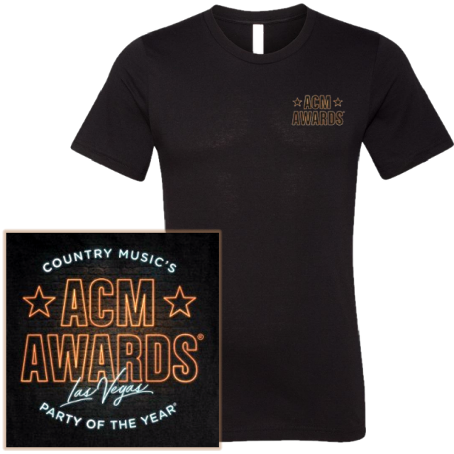 55th ACM Awards Black Tee
