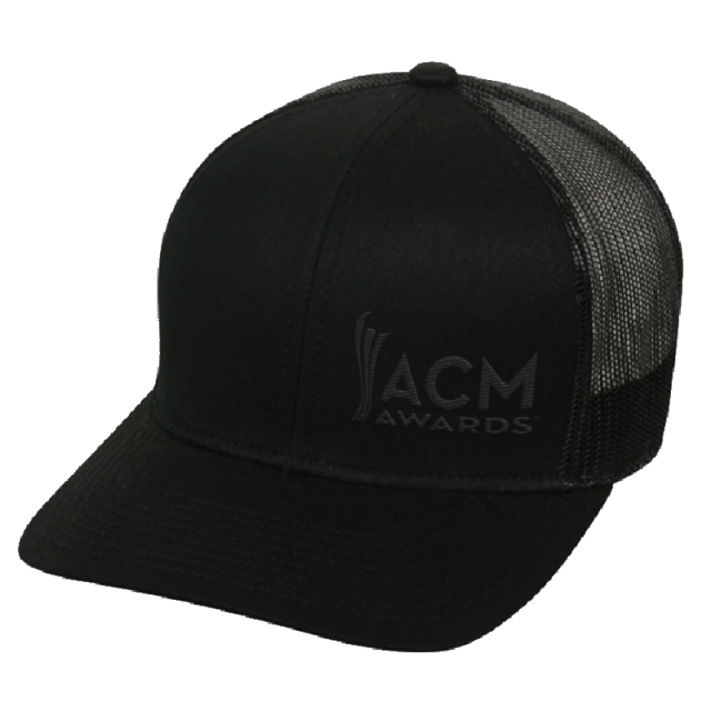 Academy of Country Music Black on Black Ballcap