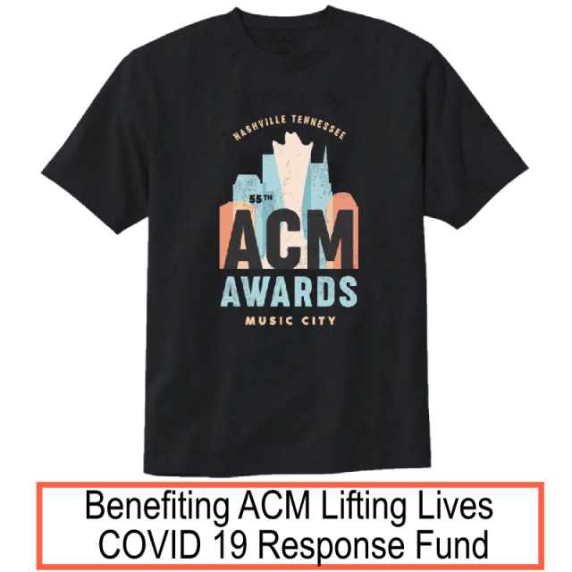 55th ACM Awards Music City Tee