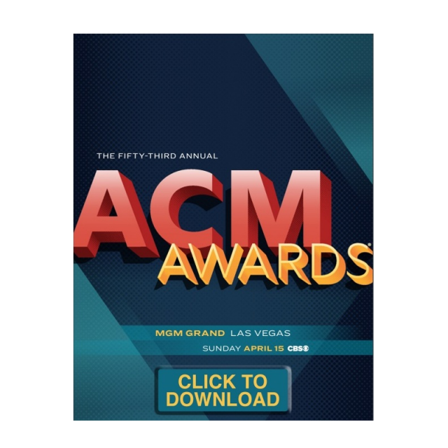 Academy of Country Music 53rd Annual Awards Program DOWNLOAD