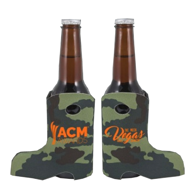 Academy of Country Music Camo Boot Koozie